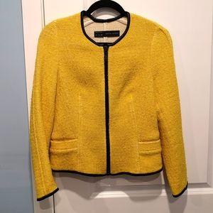 Bright Yellow Zara Blazer